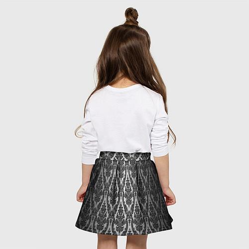 Детская юбка-солнце Гламурный узор / 3D – фото 4