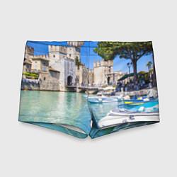 Плавки для мальчика Италия цвета 3D — фото 1