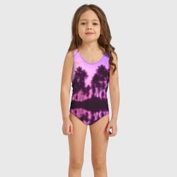 Купальник для девочки Hawaii dream цвета 3D — фото 2