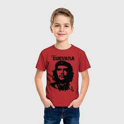 Футболка хлопковая детская Che Guevara цвета красный — фото 2