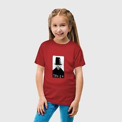 Футболка хлопковая детская Taboo witch цвета красный — фото 2
