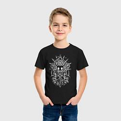 Футболка хлопковая детская Hollow Knight цвета черный — фото 2