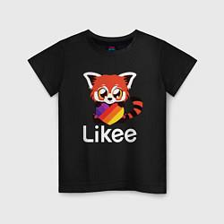 Детская футболка Likee LIKE Video