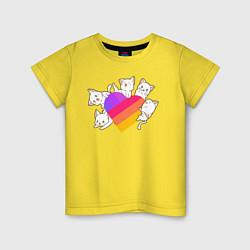 Детская футболка Котики Likee