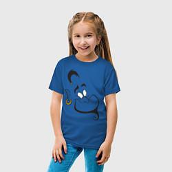 Футболка хлопковая детская Джинн цвета синий — фото 2