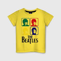 Детская футболка The Beatles: Colors