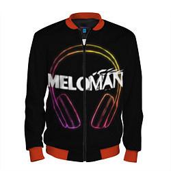 Бомбер мужской Meloman цвета 3D-красный — фото 1