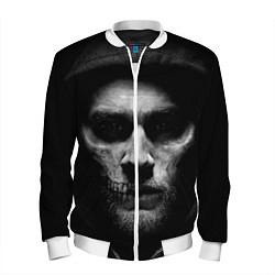 Бомбер мужской Sons Of Anarchy цвета 3D-белый — фото 1