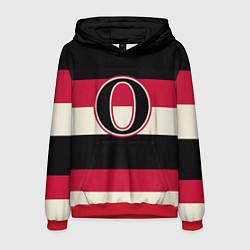 Толстовка-худи мужская Ottawa Senators O цвета 3D-красный — фото 1
