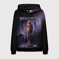 Толстовка-худи мужская Megadeth: Madness цвета 3D-черный — фото 1