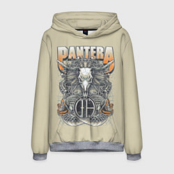 Толстовка-худи мужская Pantera: Wild Goat цвета 3D-меланж — фото 1