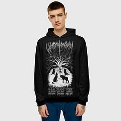 Толстовка-худи мужская Wolves in the Throne Room цвета 3D-черный — фото 2