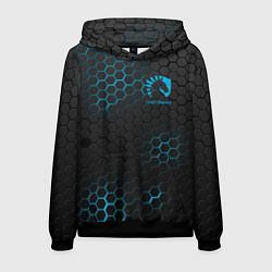 Толстовка-худи мужская Team Liquid: Carbon Style цвета 3D-черный — фото 1
