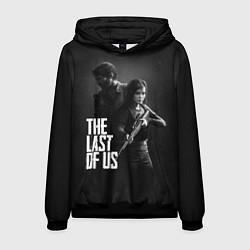 Толстовка-худи мужская The Last of Us: Black Style цвета 3D-черный — фото 1