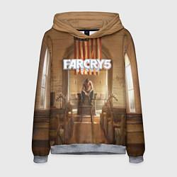 Толстовка-худи мужская Far Cry 5 цвета 3D-меланж — фото 1