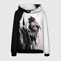 Толстовка-худи мужская Убийца Гоблинов цвета 3D-черный — фото 1