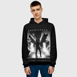 Толстовка-худи мужская Architects: Black Metal цвета 3D-черный — фото 2