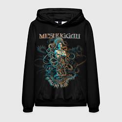 Толстовка-худи мужская Meshuggah: Violent Sleep цвета 3D-черный — фото 1