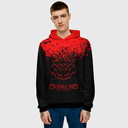 Толстовка-худи мужская Overlord цвета 3D-черный — фото 2