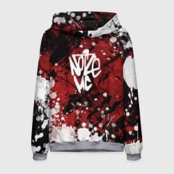 Толстовка-худи мужская Noize MC цвета 3D-меланж — фото 1