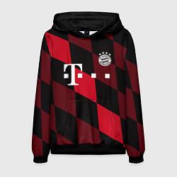 Толстовка-худи мужская ФК Бавария Мюнхен цвета 3D-черный — фото 1