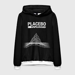 Толстовка-худи мужская Placebo: Unplugged цвета 3D-белый — фото 1