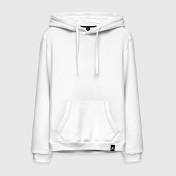 Толстовка-худи хлопковая мужская FAZE Symbol цвета белый — фото 1