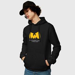 Толстовка-худи хлопковая мужская Wu-Tang Clan цвета черный — фото 2