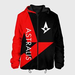 Куртка с капюшоном мужская Astralis: Cybergaming цвета 3D-черный — фото 1