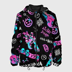 Куртка с капюшоном мужская CS GO цвета 3D-черный — фото 1