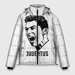 Куртка зимняя мужская Juve Ronaldo цвета 3D-черный — фото 1