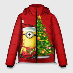 Мужская зимняя куртка Ёлка миньона