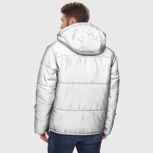 Мужская зимняя куртка Группа Пикник / 3D-Черный – фото 4