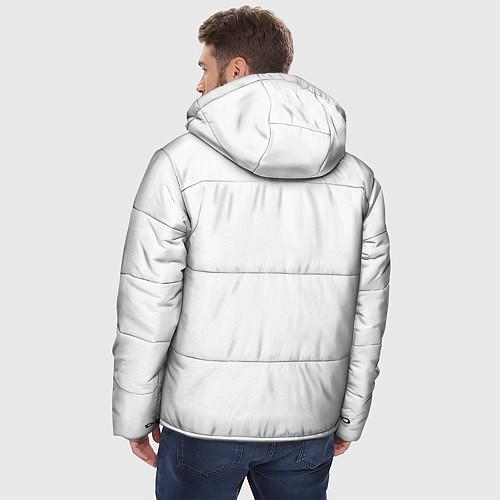 Мужская зимняя куртка Panda Love / 3D-Черный – фото 4