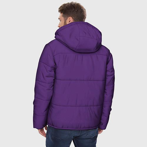 Мужская зимняя куртка No game no life Sora / 3D-Черный – фото 4
