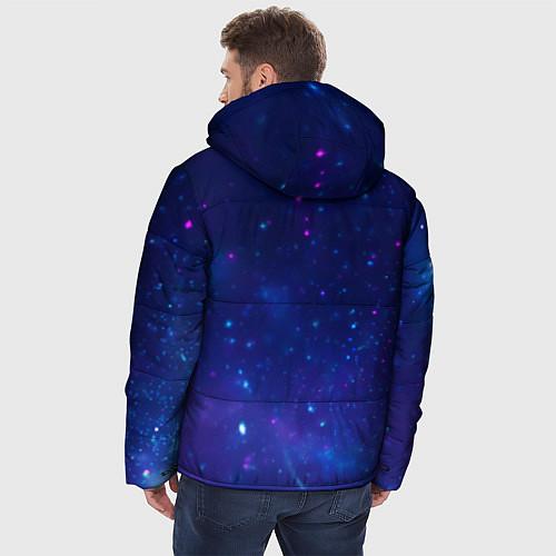 Мужская зимняя куртка Лев SWAG / 3D-Черный – фото 4