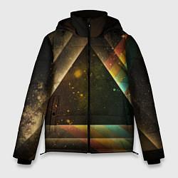 Куртка зимняя мужская Pink Phloyd: Triangle цвета 3D-черный — фото 1