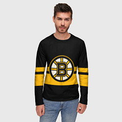 Лонгслив мужской BOSTON BRUINS NHL цвета 3D — фото 2
