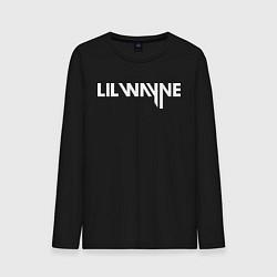 Лонгслив хлопковый мужской Lil Wayne цвета черный — фото 1