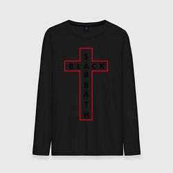 Лонгслив хлопковый мужской Black Sabbath цвета черный — фото 1