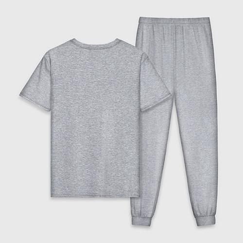 Мужская пижама 2tone / Меланж – фото 2
