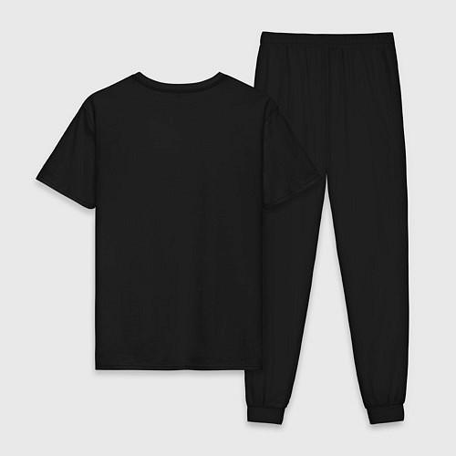 Мужская пижама Misfits Skeletons / Черный – фото 2