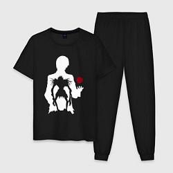 Пижама хлопковая мужская Rotten World цвета черный — фото 1