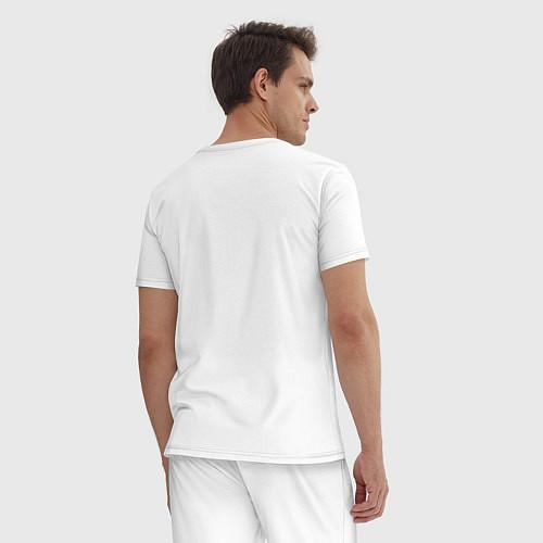 Мужская пижама Misfits: White rabbit / Белый – фото 4
