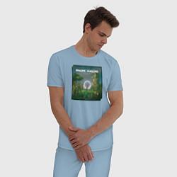 Пижама хлопковая мужская Imagine Dragons Origins цвета мягкое небо — фото 2
