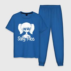 Пижама хлопковая мужская Sally Face цвета синий — фото 1