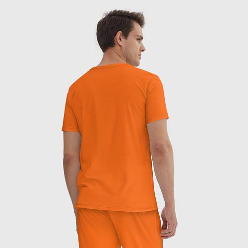 Мужская пижама Nero / Оранжевый – фото 4
