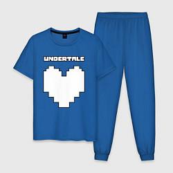 Пижама хлопковая мужская UNDERTALE цвета синий — фото 1