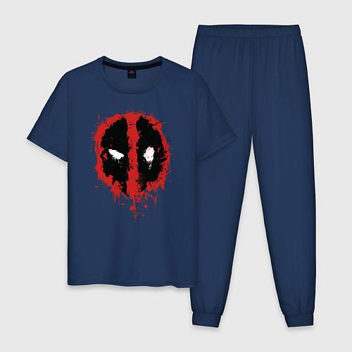 Мужская пижама Deadpool logo