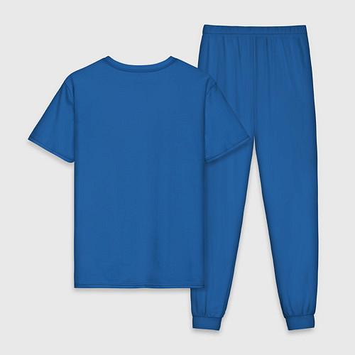 Мужская пижама С Новым Годом / Синий – фото 2